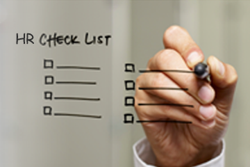 HR software check list